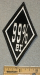 99% er - Diamond Shape - Embroidery Patch