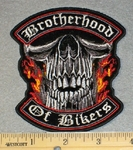 Brotherhood Of Bikers - Embroidery Patch