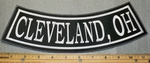 Cleveland, Oh - Bottom Rocker - Embroidery Patch