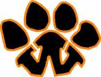 Wellsville Tiger Paw 2 color style 3