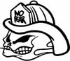 FIREFIGHTER SCULL NO FEAR