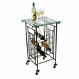 Mission Style Wine Cart