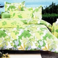 [Field of Spring] 100% Cotton 5PC Comforter Set (Full Size)