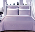"""Lit-Blue Olympic Queen Solid Bed in A Bag 90x92"""" Egyptian cotton With Down Alternative Comforter"""