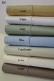 Twin Extra Long 450 Thread count Solid Egyptian sheet sets