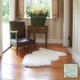 Premium Single Longwool Rug - lvory