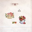 Flower Select-2A - Wall Decals Stickers Appliques Home Decor