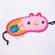 [Good Night Rabbit] Embroidered Applique Eye Shade / Sleeping Mask Cover / Sleep Blinder (7.5*3.5)