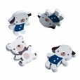 [White Dog & Bear] - Brooch / Brooch Pin / Animal Pin Brooch (Set of 4)