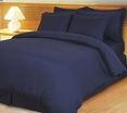 Navy Damask Stripe Down Alternative 4-pc Comforter Set, Egyptian 600 count(King/Calking)