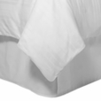 King Egyptian cotton Solid Bed Skirt, 300 Thread count
