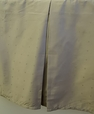 Tailored bedskirt 300 Solid woven dots Egyptian cotton(King Size)