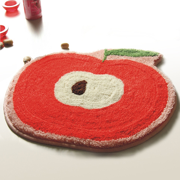 Naomi Red Apple Kids Room Rugs 20 9 By 22 Inches