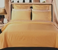 FULL Size 8PC Solid GOLD 550TC Egyptian cotton bed in a bag