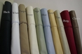 Standard Pair Pillow Cases 550 Thread count Soild Egyptian cotton
