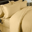 8-PC Cal-King STRIPE Bed in A Bag Egyptian cotton With Down Alternative Comforter
