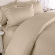 8-PC Cal-King Solid Bed in A Bag T300 Egyptian cotton With Down Alternative Comforter