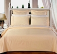 California-King 8PC Solid Ivory 550TC Egyptian cotton bed in a Bag