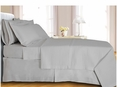 White Checkered Coverlet Set Egyptian cotton 400 Thread count Reversable(Full/Queen Size)