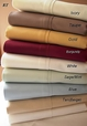 T300 Queen size sheets Solid 100% Egyptian cotton sheet set
