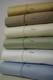 1000 Thread count Olympic Queen Solid Sheet Set