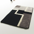 Naomi - [Modern] Wool Throw Rugs (17.7 by 25.6 inches)