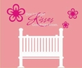 """""""Don't forget goodnight kisses."""" Perfect for over a baby bed!"""