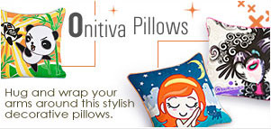 Onitiva Pillows Hug and wrap your arms around this stylish decorative pillows.