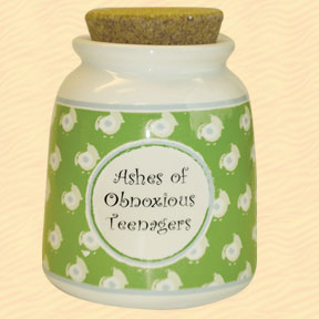 Tumbleweed Pottery Funny Money Designer Word Jars