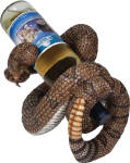 Rattlesnake Novelty Wine Bottle Holder