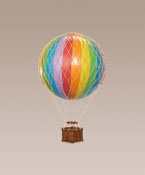 Floating the Skies, Rainbow Hot Air Balloon Small