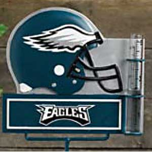 Philadelphia Eagles NFL Rain Gauge