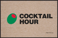 Cocktail Hour Doormat