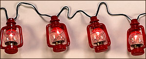 Lantern Light Set with Flicker Flame Bulb