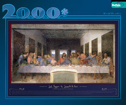 Last Supper - 2000 Piece Puzzle