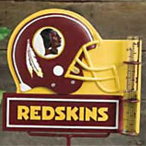 Washington Redskins NFL Rain Gauge