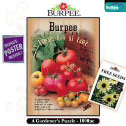 Burpee's Tomato Hall of Fame - A 1000 Piece Gardener's Puzzle