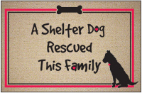 A Shelter Dog Rescued This Family Doormat