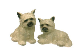 Westie Dog Salt & Pepper Shaker Set