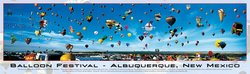 Balloon Festival 750 Piece Panoramic Puzzle