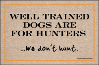 We Don't Hunt Doormat