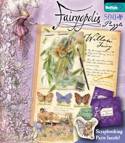 Willow Fairy Flower Fairies 500 Piece Puzzle by Cicely Mary Barker