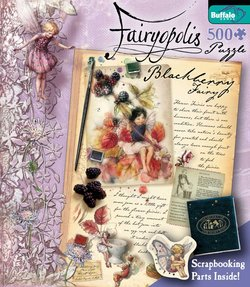 Blackberry Fairy Flower Fairies 500 Piece Puzzle by Cicely Mary Barker
