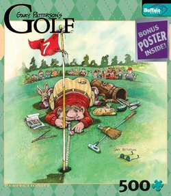 Perfectionist Gary Patterson's Golf 500 Piece Puzzle