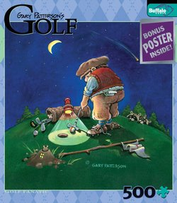 Golf Fanatic Gary Patterson's Golf 500 Piece Puzzle