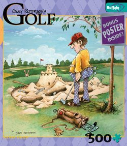 Sand Trap Gary Patterson's Golf 500 Piece Puzzle