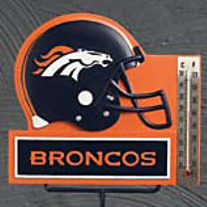 Denver Broncos NFL Thermometer