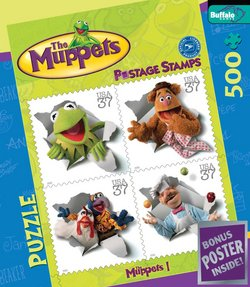 The Muppets I The Muppets 500 Piece Puzzle