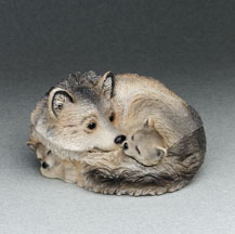 Wolf Critter Keeper Stone Critters Figurine