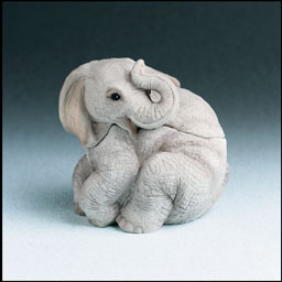 Elephant Critter Keeper Stone Critters Figurine